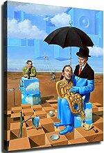 WJWGP Salvador Dali Plakat BerüHmte Absurde Bild