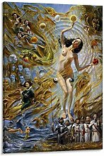 WJWGP Salvador Dali Plakat Surrealismus Bild