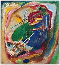 WJWGP Wassily Kandinsky Wand Bilder 《Bild Mit
