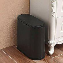 Wkkie One-Touch Push-Deckel Abfalleimer Getrennt,