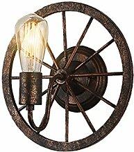 WL-ZZZ-retro / Innen- / Außenwandleuchte Continental Industrie Retro Wandlampe , Eisenräder Ganglichter Lampen Creative-Cafe Praktische und langlebige Lampen