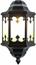 WL-ZZZ-retro / Innen- / Außenwandleuchte Europäische Art-Retro- Garten-Lampe, im Freienwand-Lampe, Gang-Wand-Beleuchtung, imprägniern im Freienkorridor-Treppenhaus-Terrasse-Beleuchtung Praktische und langlebige Lampen ( Farbe : Schwarz , stil : #13 )