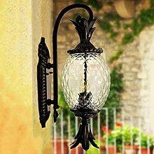 WL-ZZZ-retro / Innen- / Außenwandleuchte European Style Retro im Freien wasserdichte Wandleuchte Garden Villa Balkon Tür Korridor Ananas Wandleuchte Praktische und langlebige Lampen ( größe : S )