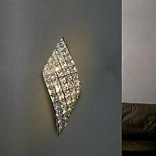 WL-ZZZ-retro / Innen- / Außenwandleuchte Moderne Minimalist Kristall Kreative Lampen Nachttischlampen Personality-Studie Kristallwand-Lampen im europäischen Stil Wandleuchte Praktische und langlebige Lampen ( Farbe : A )