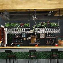 WLABCD Bar Weinregal Restaurant Wandmontierter
