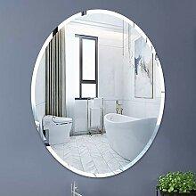 WLABCD Spiegel, Badezimmer, Wandmontage,
