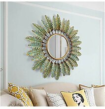 WLABCD Spiegel Runde Wandspiegel Wandspiegel Für