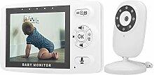 WLAN Babyphone mit 3,5 Zoll LCD, Babyschutz
