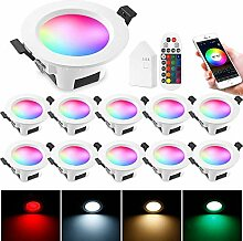 WLAN Bluetooth 5W Dimmbar LED Einbaustrahler