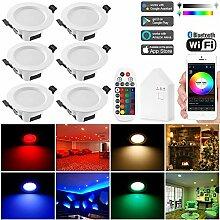 WLAN Bluetooth 9W Dimmbar LED Einbaustrahler