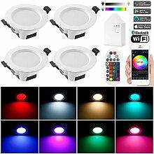 WLAN Bluetooth Mesh 9W Dimmbar LED Einbaustrahler