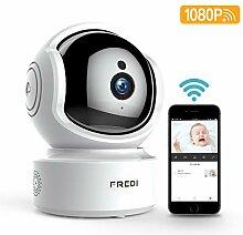 WLAN Ip Kamera Indoor 1080P Babyphone,FREDI WiFi
