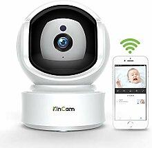 WLAN IP Kamera Indoor 1080P, KinCam Nanny Kameras