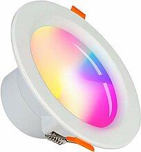 WLAN LED Einbauleuchte Alexa/SUMGLED/Smart 5W LED