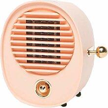 WLHW Ventilator Heizlüfter, Tragbare Heizkörper