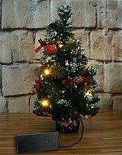 WLITTLE Mini Weihnachtsbaum Tannenbaum Geschmückt