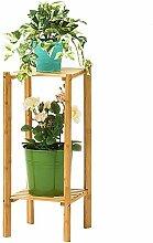 WLJ-Regal Blumenständer aus Holz, Bodenständer