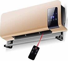 WLJQNQ Elektroheizung, 2000W Home PTC Heizung und