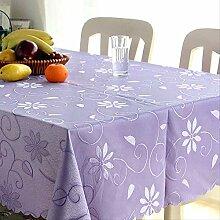 WLLBT Rechteckige Tischdecke Druck Einfache