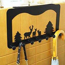 WLLLO Türhänger Schrank Tür Kleiderbügel