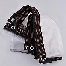 WLLYP 0,12mm Kunststoff Regenschutz Tuch