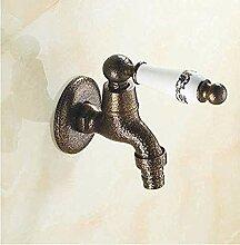 WLP-WF Wasserhahn Antik Messing Badezimmerzubehör