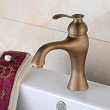 WLP-WF Wasserhahn Badezimmer Antik Kupfer