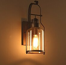 Wlxsx antike Wandlampe Des Dachbodenindustriellen