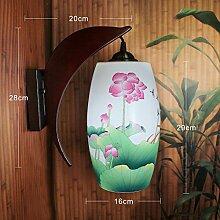 Wlxsx Chinese Jingdezhen Keramische Wandlampe