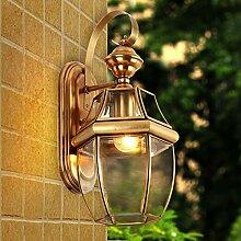 Wlxsx europäische Glashofindustrielle Wandlampe