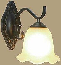 Wlxsx Industrielle Dekoration-Wandlampe Für
