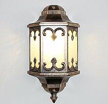 Wlxsx industrielle Wandlampe Der Einfachen