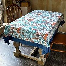 WLXZG Europäische Nordische Tischdecke Kleine