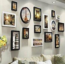 WLY & Home Bilderrahmen-Set, Vintage Bilderrahmen,
