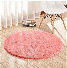 Wly&Home Wohnzimmer Rutschfeste Fußmatten Rundes