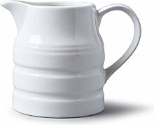 Wm Bartleet & Sons Porzellan-Kännchen, weiß, 1