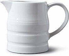 Wm Bartleet & Sons Porzellan-Kännchen, weiß, 2