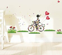 Wmbz Aufkleber -Wand -Aufkleber Blumen