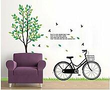 Wmbz Aufkleber Wand Aufkleber Fahrrad Aufkleber