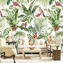 Wmbz Europäischen Stil Tropische Vögel Blumen