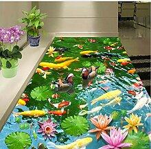 Wmbz Pvc Selbstklebende Wasserdichte 3D Boden
