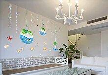Wmbz Wandaufkleber Pflanzenkörbe Schlafzimmer