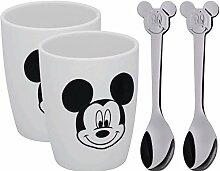 WMF Disney Mickey Mouse Tassen Set M, 2 Tassen mit