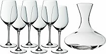 WMF Easy Plus Wein-Set, 7-teilig, 6 Weinglas (22