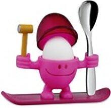 WMF Eierbecher mit Löffel in pink