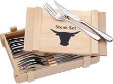 WMF Steakbesteck, Cromargan® Edelstahl Rostfrei