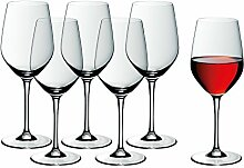 WMF Weinglas Rotweingläser 6er Set easy Plus 22cm