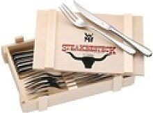 WMF WMF Steakbesteck in Holzkiste, 12-teilig