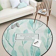 WmmoY-carpet Teppich Runder Teppich Schlafzimmer
