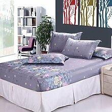 Wmshpeds Mode Bett Futter Rutschfeste Einteiligen